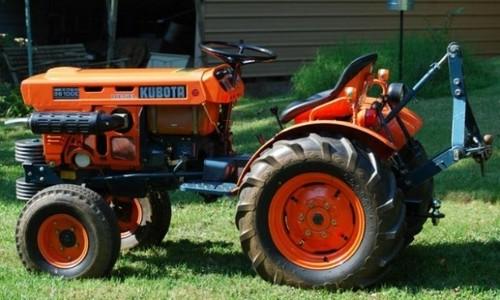 Product picture Kubota B5100D B5100E B6100D B6100E B6100HST-D B6100HST-E B7100D B7100HST-D B7100HST-E Tractor Service Repair Workshop Manual DOWNLOAD