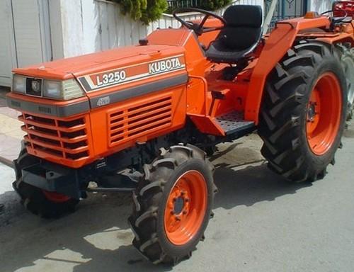 Product picture Kubota L2250 L2550 L2850 L3250 Tractor Operator Manual DOWNLOAD