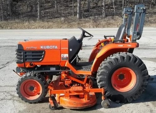 Product picture Kubota B2710 B2910 B7800 Tractor Operator Manual DOWNLOAD