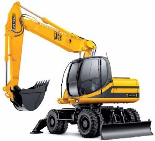 Jcb Js130w Js145w Js160w Js175w Wheeled Excavator Service